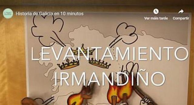 A historia de Galicia triunfa en internet neste vídeo de 10 minutos.