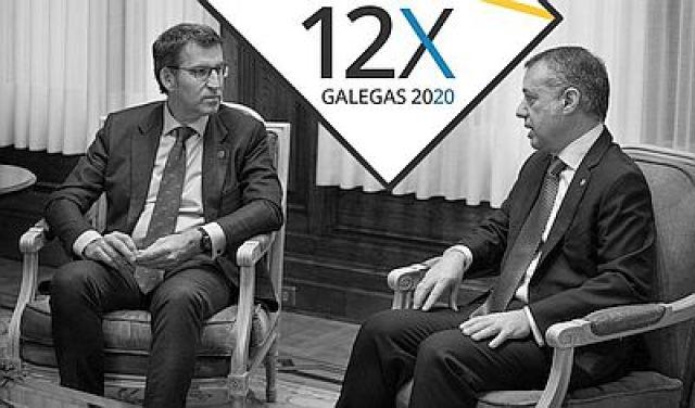 Feijóo volve secundar a Urkullu e convoca as eleccións galegas para o 12 de xullo