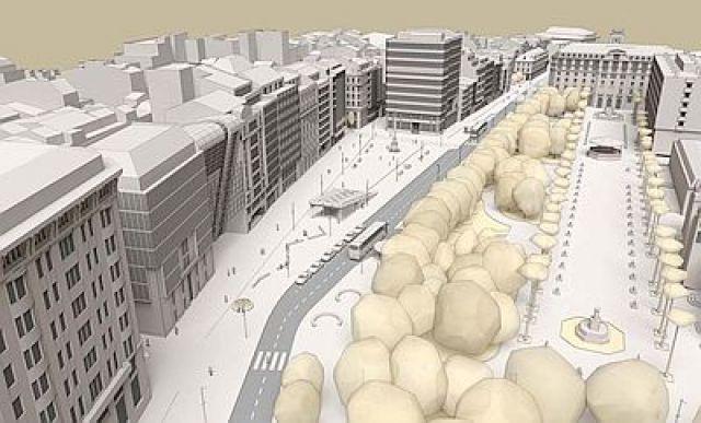 A Coruña camiña hacia a sustentabilidade coa reforma dos Cantóns para ceder espazo aos peóns.