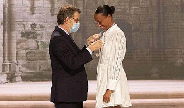 O agradecemento de Ana Peleteiro pola Medalla Castelao: Sobre todo, eu son galega.