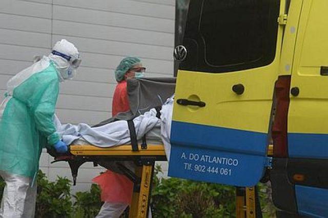 As cifras da Covid na Coruña son xa iguais ás do 25 de marzo, en plena pandemia