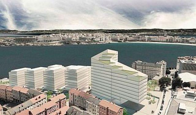 A Coruña/ As Percebeiras: o proxecto herdado do antigo urbanismo que ergue o barrio da Labañou