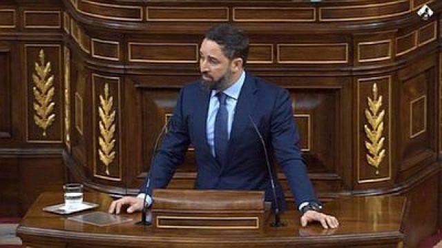 España/ A Moción de Censura de Vox fracasa ao non obter o apoio de ningún partido político.