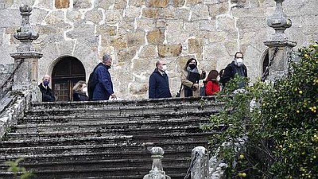 O Estado recibe as chaves de Meirás tras máis de 82 anos en mans dos Franco.
