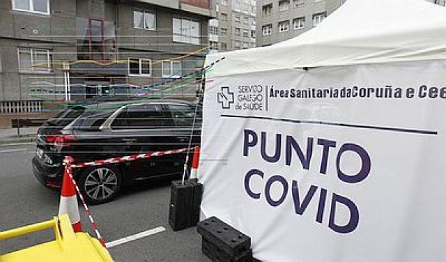 Así se disparou en Galicia a terceira onda da pandemia de COVID dende as festas de Nadal
