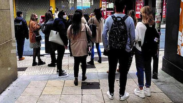 265.934 Galegos e galegas de entre 16 e 34 anos vivían cos seus pais en 2019.