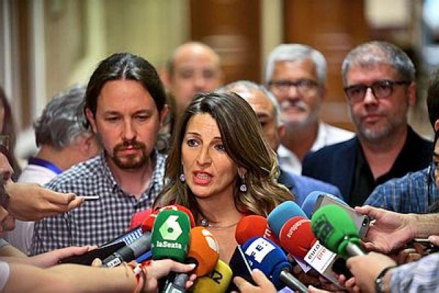 A galega Yolanda Díaz será vicepresidenta do goberno de España.