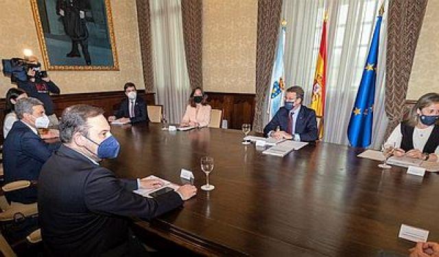O Goberno de España desbloquea o tren ao porto exterior da Coruña e deixa no aire o futuro dos terreos portuarios da cidade