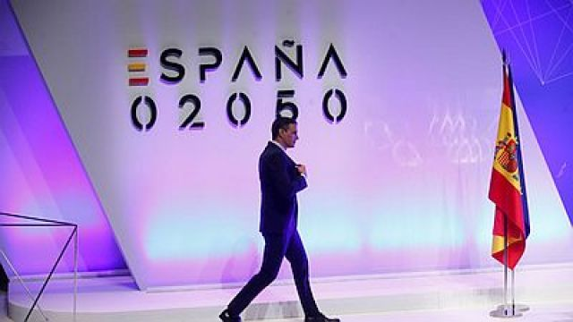 Pedro Sánchez presenta o Plan España 2050: modernización, máis servizos sociais, máis ecoloxía, e equiparación impositiva coa UE.