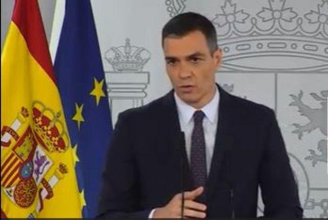 """Pedro Sánchez anuncia unha suba """"inmediata"""" do salario mínimo para o que queda do ano."""